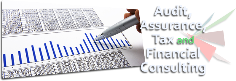 Banner graphic: Audit, Assurance, Tax and Financial Consulting
